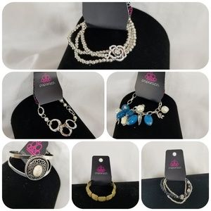 Paparazzi Bracelet Bundle, 6 New Sets